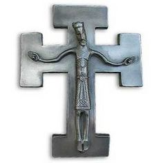 "Glenstal Byzantine Crucifix ""My Kingdom Come"""