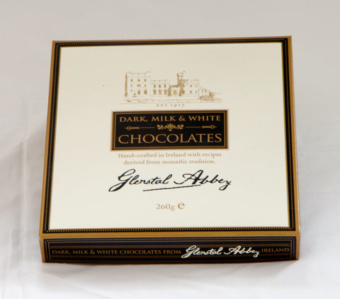 Glenstal Abbey Dark, Milk & White Chocolates