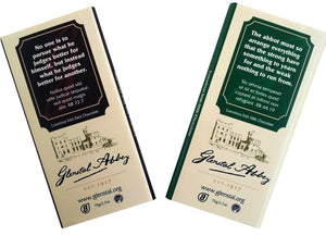 Chocolate Bars with Rule of Benedict texts
