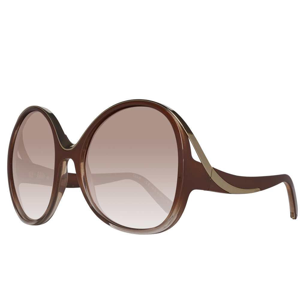 Chloe CE713S 277 Ladies Turtledove Gradient Sunglasses