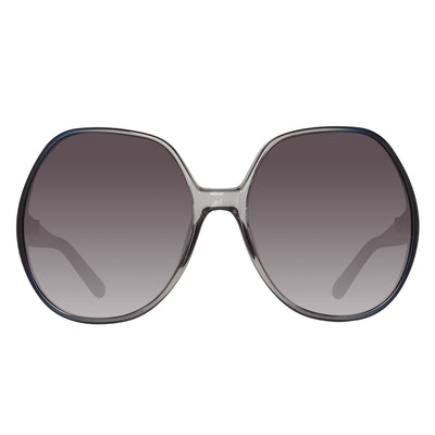 Chloe CE717S 426 Ladies Oversized Blue Sunglasses