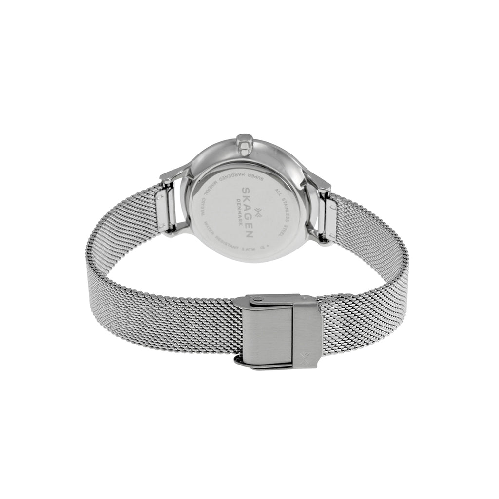 Skagen SKW2307 Ladies Anita Crystal Accented Stainless Steel Watch