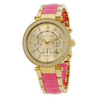 Michael Kors MK6363 Parker Ladies Chronograph Watch