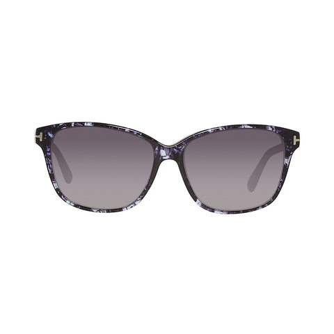 Tom Ford FT0432 55W 59 Black Ladies Sunglasses