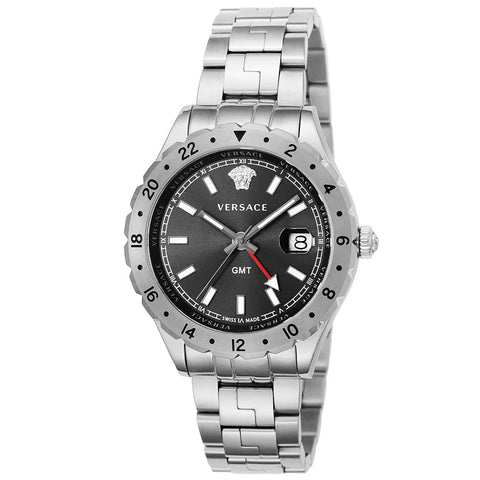 Versace V11020015 Hellenyium GMT Men's SS Watch
