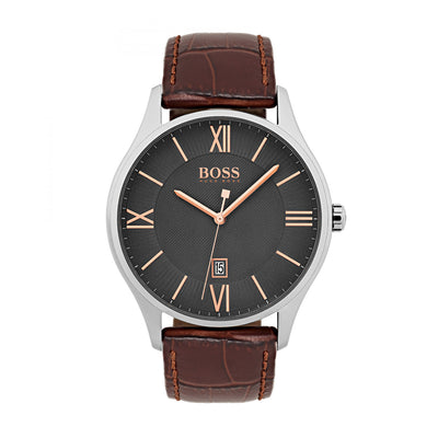 Hugo Boss 1513484 Governor Men's Leather Watch