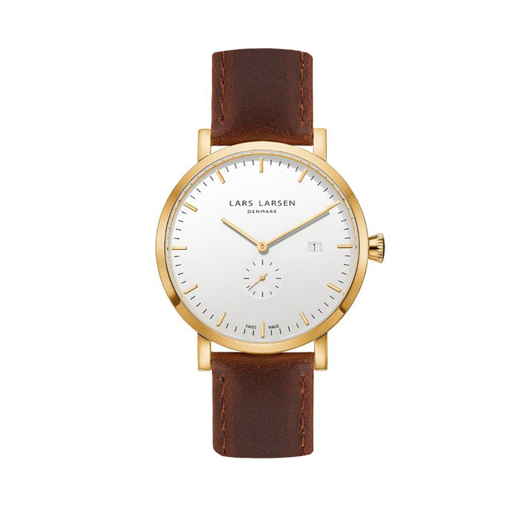 Lars Larsen 131GWBL Men's Watch