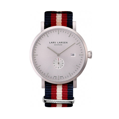 Lars Larsen 131SWNN Men's Watch