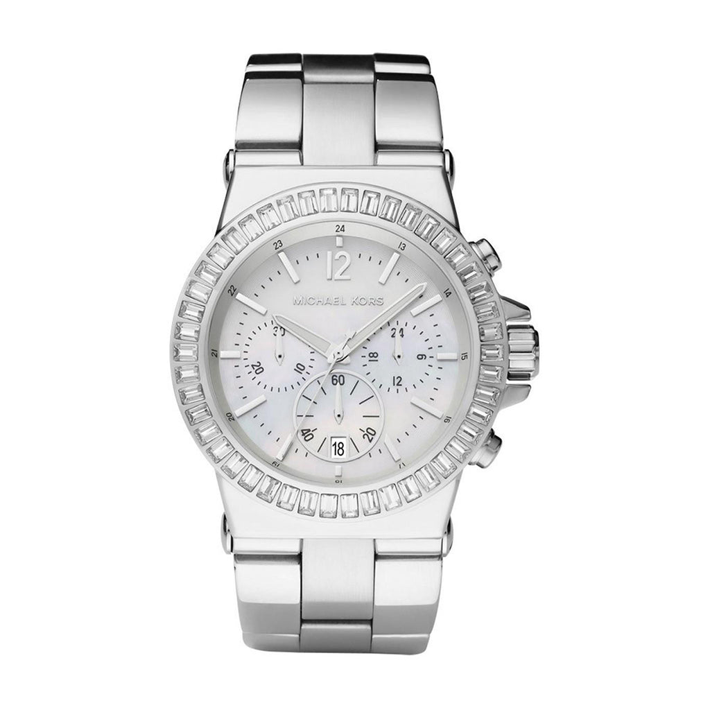 Michael Kors MK5411 Ladies' Chronograph  Silver Watch
