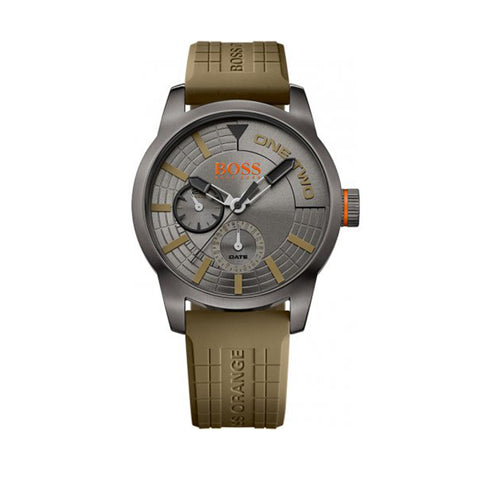 Hugo Boss Orange 1513308 Tokyo Men's Green Strap Watch