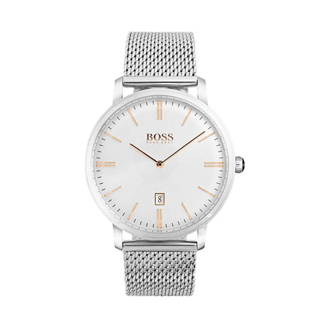 Hugo Boss 1513481 Men's Tradition Mesh Watch