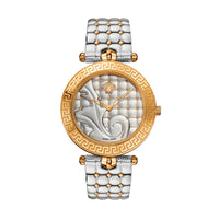 Versace Vanitas Ladies' Gold/Steel Plated Swiss Watch - VK7230015
