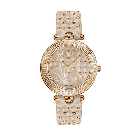 Versace Vanitas Ladies' Rose Gold/Cream Swiss Watch - VK7020013