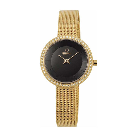 Obaku V146LEGBMG Ladies Gold Watch