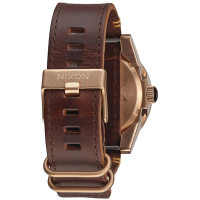 Nixon A243-2001 Men's The Corporal Rugged Horween Watch