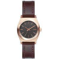 Nixon A509-2001 Ladies Small Time Teller Leather Watch
