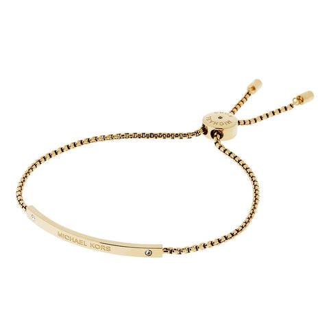 Michael Kors MKJ4641710 Ladies Logo Slider Bracelet
