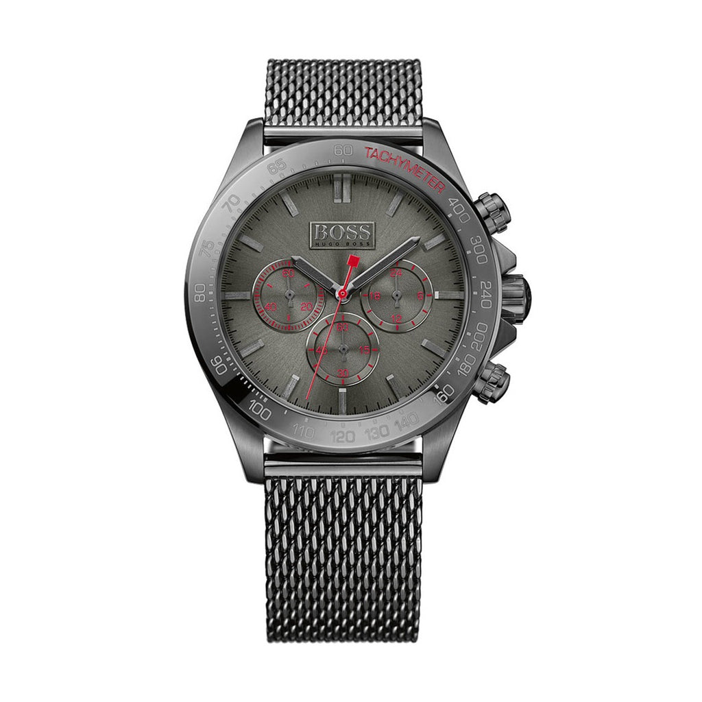 Hugo Boss 1513443 Ikon Men's Gunmetal Chronograph Watch