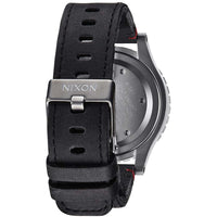 Nixon A363-486 Men's The 48-20 Leather Chrono chronograph Watch