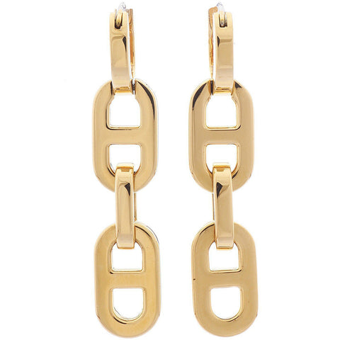 Michael Kors MKJ1937710 Ladies Drop Stainless Steel Gold Earrings