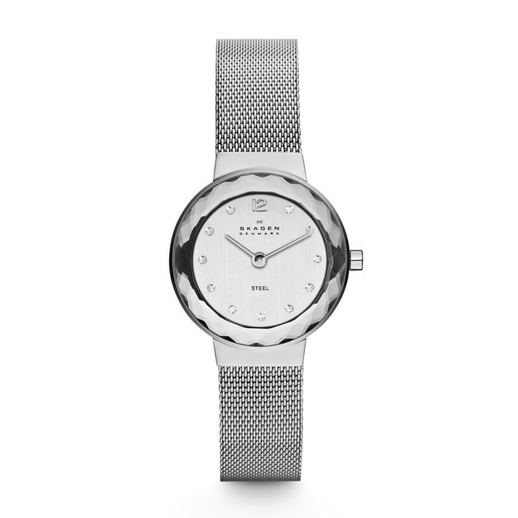 Skagen 456SSS Ladies Silver Stainless Steel Watch
