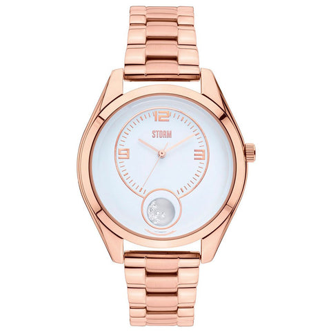 Storm 47296/RG/W Orba Rose Gold Ladies PVD Rose Gold Plated Watch