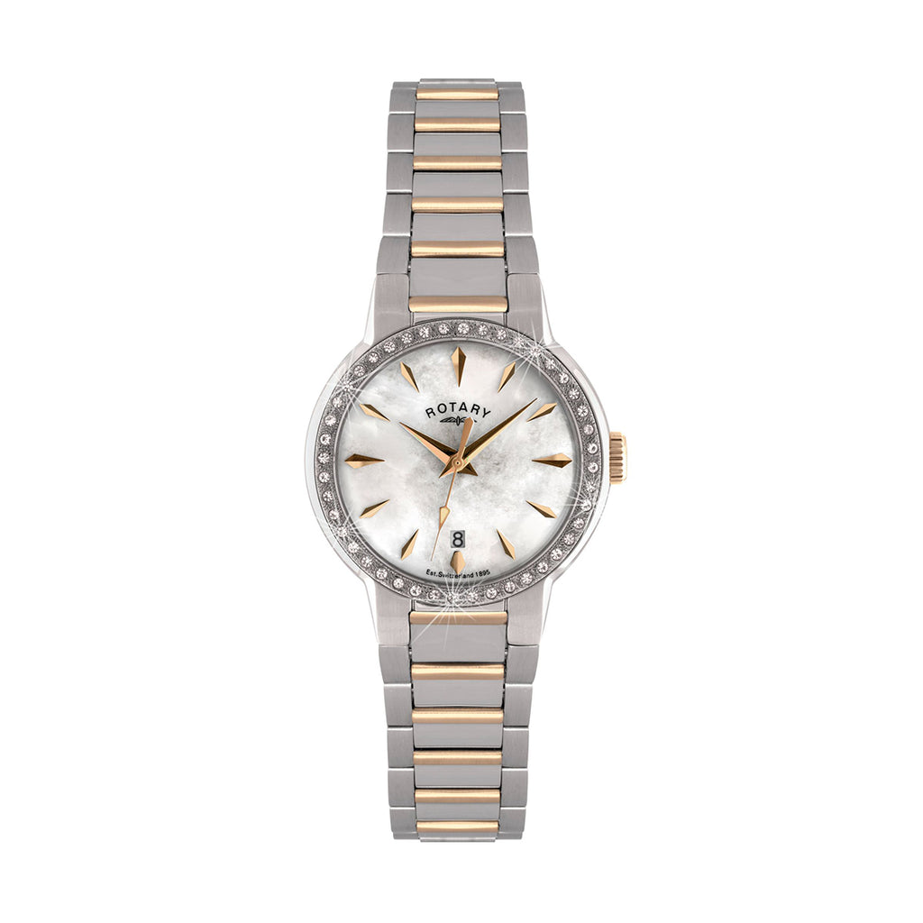 Rotary LB02844/41 Ladies Mother of Pearl Dial Watch