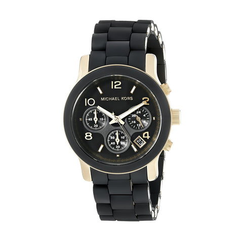 Michael Kors MK5191 Black Catwalk Chronograph Runway Ladies Watch