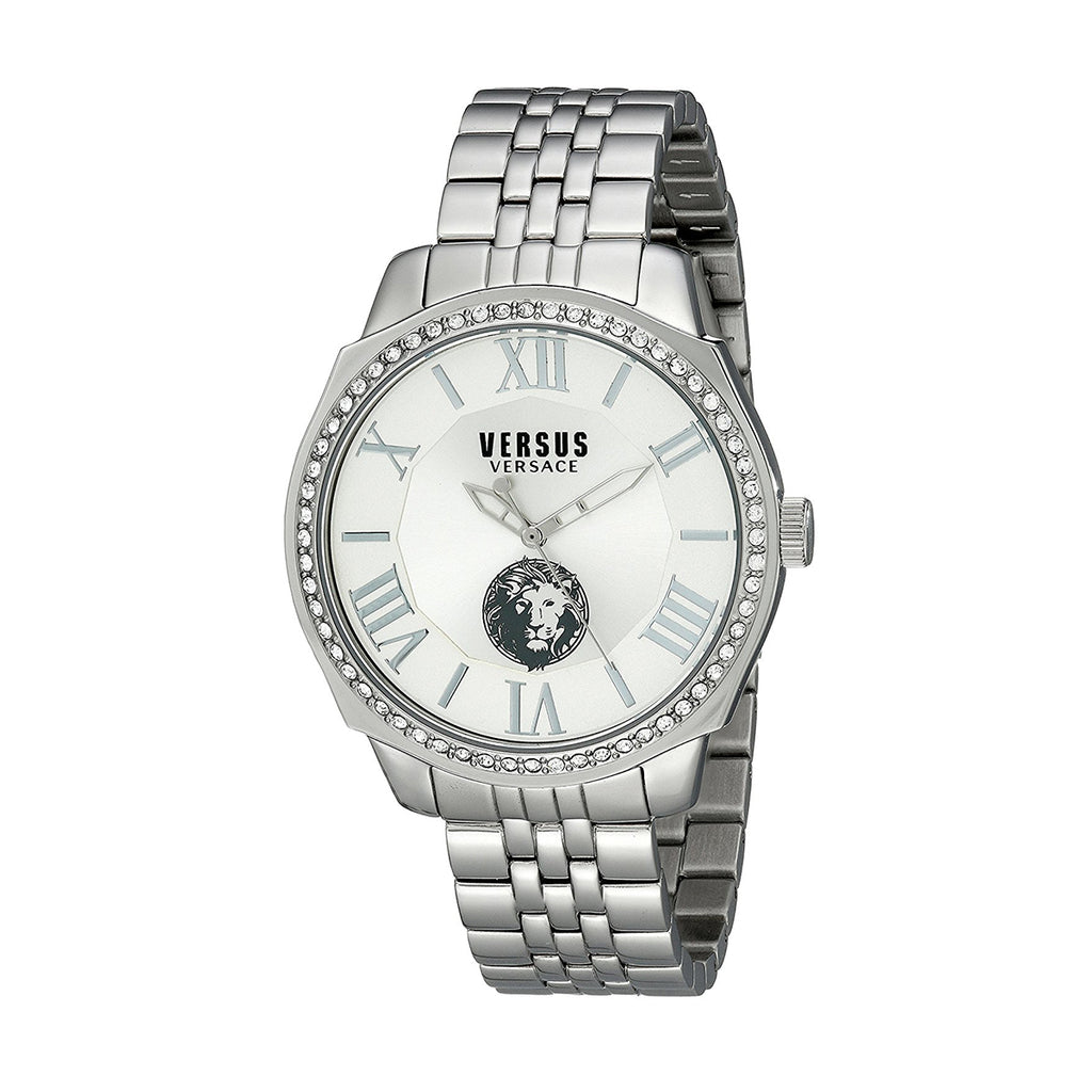 Versus by Versace  SOV030015 Men's Silver Stainless Steel Quartz Watch