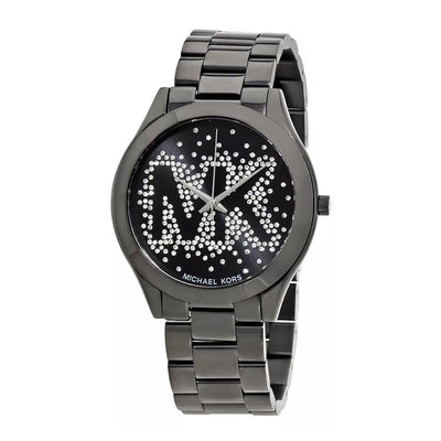 MICHAEL KORS MK3589 Slim Runway Black Dial Ladies Watch