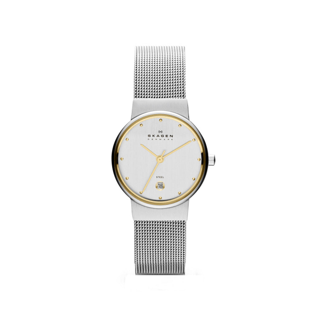 Skagen 355SGSC Classic Ladies Steel Mesh Watch