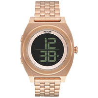Nixon A948-897 Unisex The Time Teller Digi SS Chronograph Watch