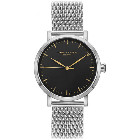 Lars Larsen 143SBSM Men's Stainless Steel Watch
