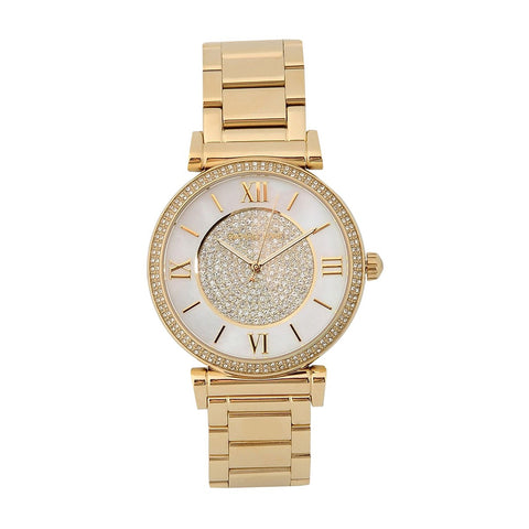 Michael Kors MK3332 Catlin Mother of Pearl Dial Ladies Watch