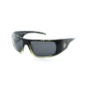 Filtrate Vinyl Green Polarized Unisex Sunglasses