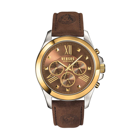 Versus by Versace SBH030015 Men's Chronograph Leather Watch