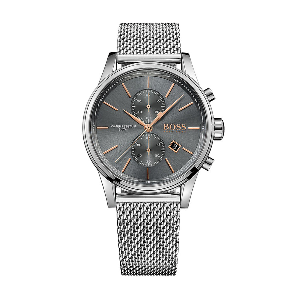 Hugo Boss 1513440 Men's Jet Grey Chronograph Watch