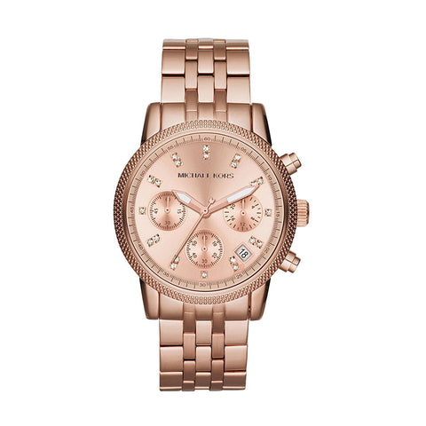 Michael Kors MK6077 Ladies Ritz Chronograph Watch