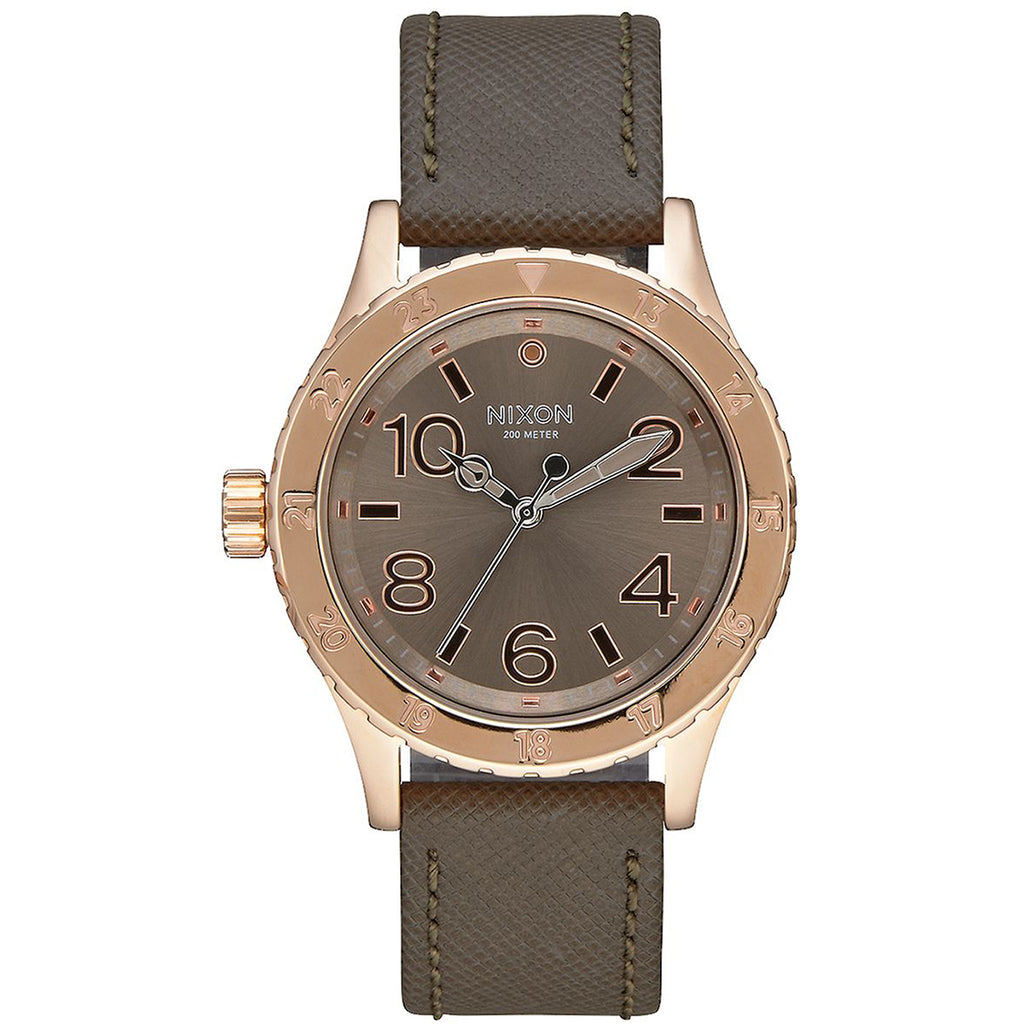 Nixon A467-2214 Ladies The 38-20 Leather Watch