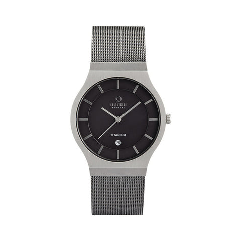 Obaku V123GTJMJ Men's Titanium Multi-Function Watch