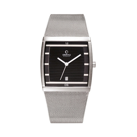 Obaku V102GDCBMC Men's Stainless Steel Watch