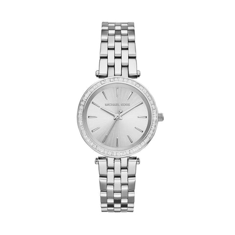 Michael Kors MK3364 Petite Darci Silver Dial Steel Ladies Watch
