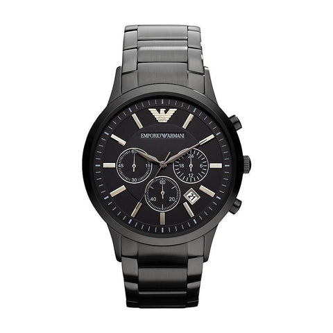 Emporio Armani AR2453 Men's Chronograph Black Watch