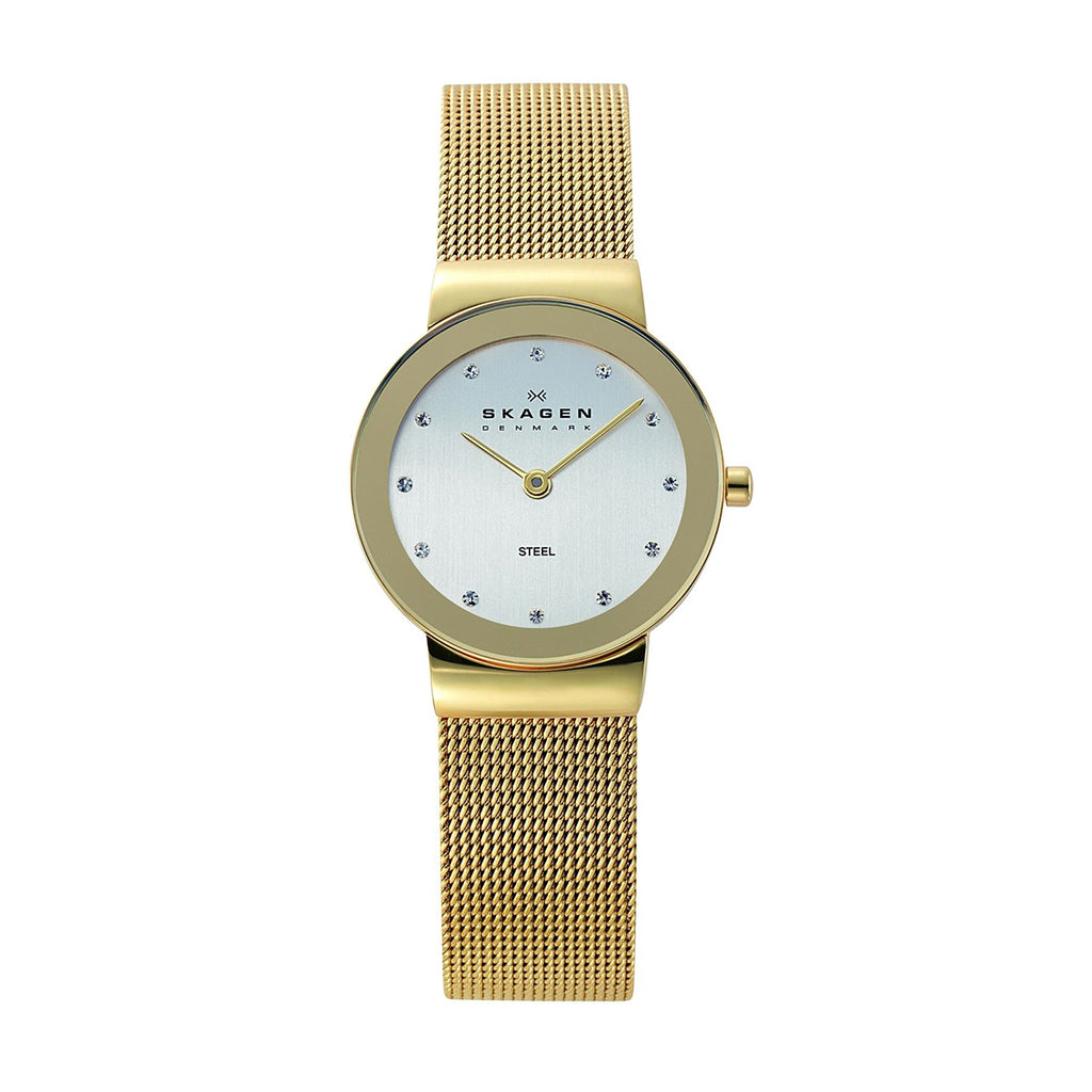 Skagen 358SGGD Ladies Gold Strap Watch