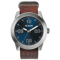 Nixon A243-1656 Men's The Corporal Leather Watch
