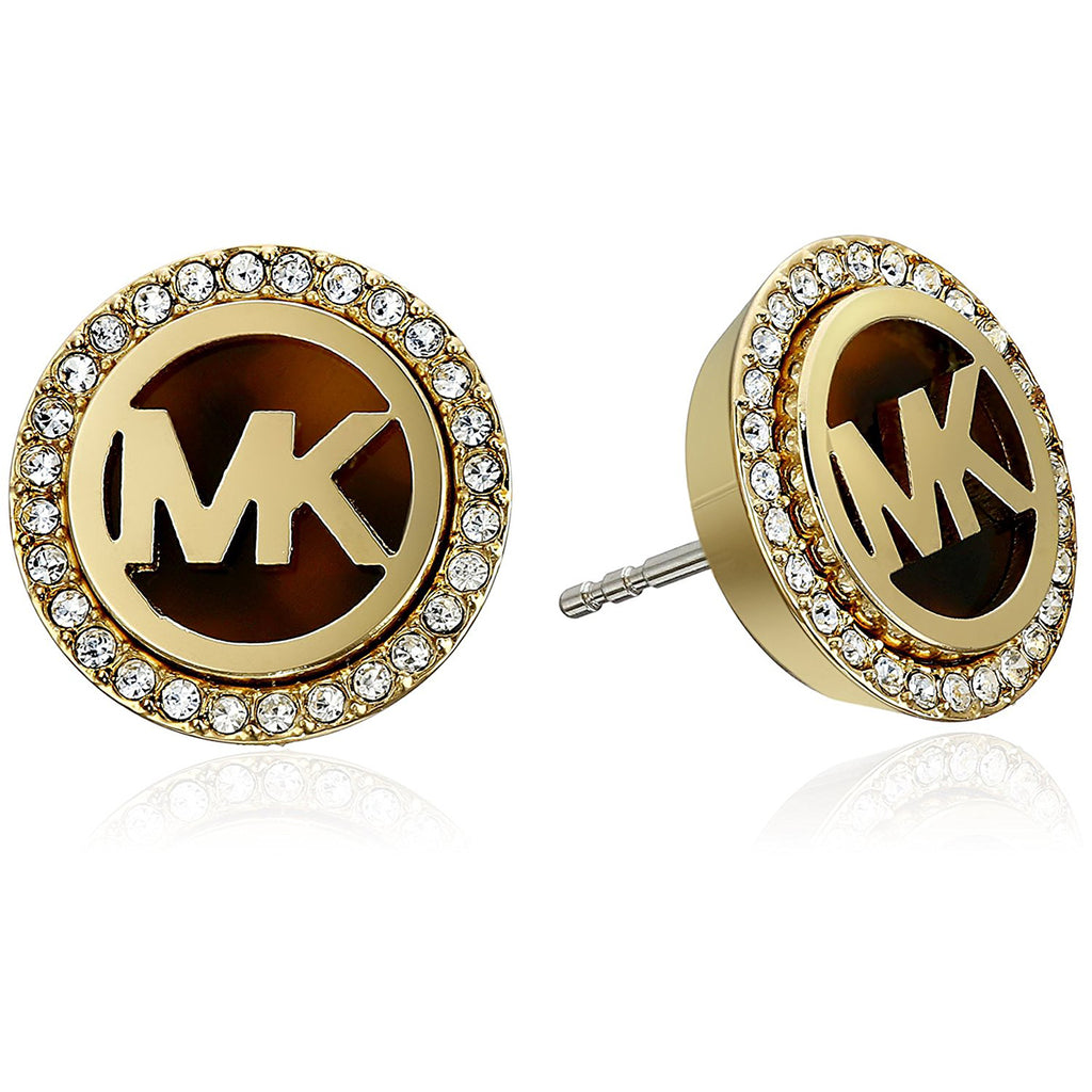 Michael Kors MKJ2943710 Heritage Gold Plated Ladies Earrings