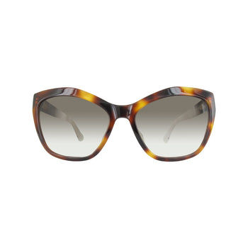 Balenciaga BA0047F-53P-58 Ladies Brown Gradient Lens Sunglasses