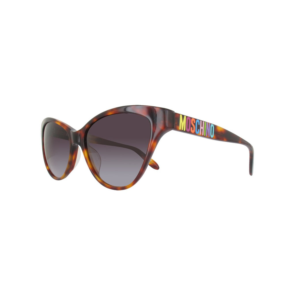 Moschino MO781S02SA Ladies Brown Tortoise Sunglasses