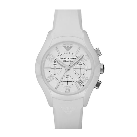 Emporio Armani AR1431 Unisex Ceramic Chronograph Watch