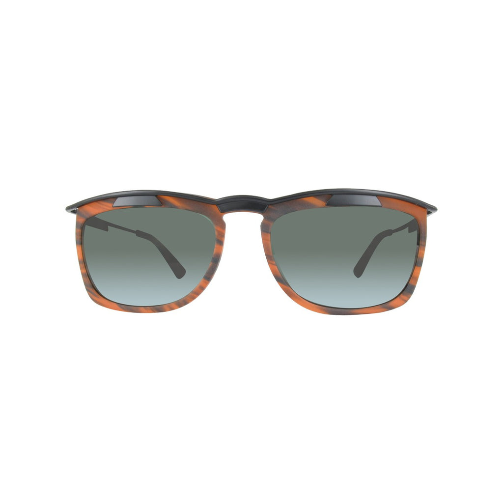 Kenzo KZDAH1401-02-56 Mens Orange & Black Marbled Sunglasses